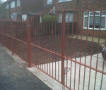 Gates and Railings Primed