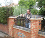 Hand Painted Gates and Railings