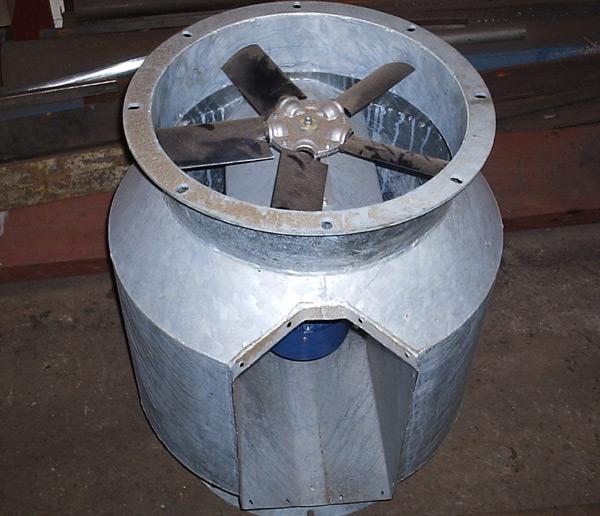 Industrial Fan Maintenance & Repair, Dynamic Fan Balancing